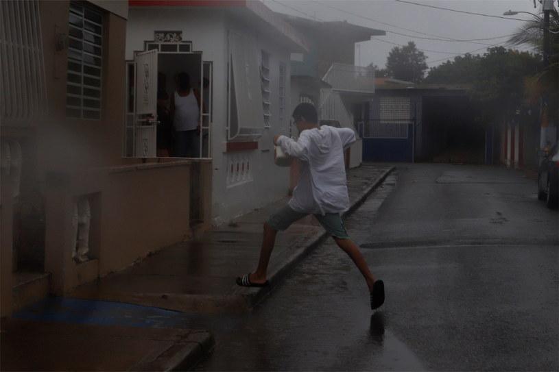 Marco ma zaatakować wybrzeża amerykańskiego stanu Luizjana w poniedziałek /Thais Llorca /PAP/EPA