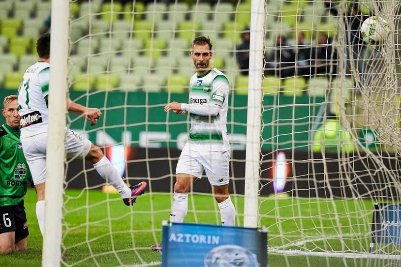 Marco Paixao strzelił gola dla gdańszczan /Jan Rusek /