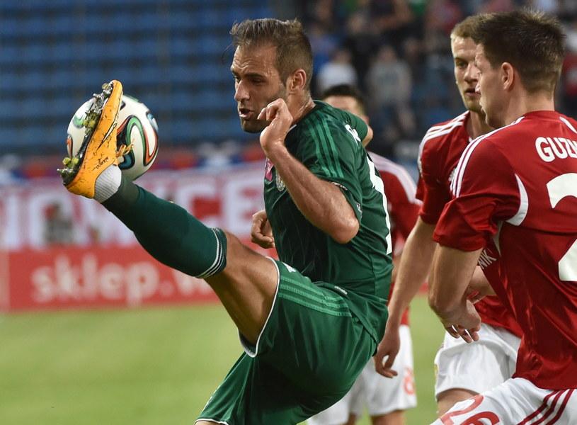 Marco Paixao w meczu z Wisłą /fot. Jacek Bednarczyk /PAP