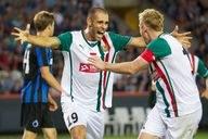 Marco Paixao wciąż będzie cieszyć się ze zdobywania bramek dla Śląska? /Kurt Desplenter /AFP