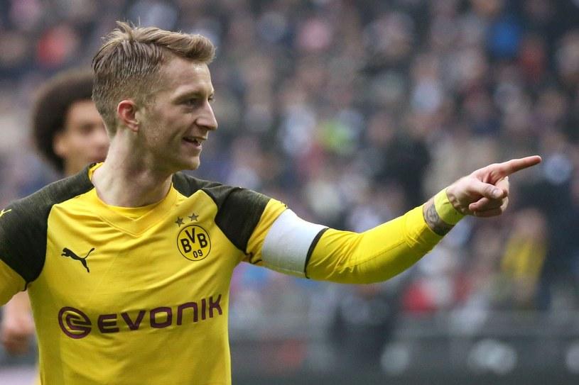 Marco Reus, kapitan Borussii Dortmund /AFP