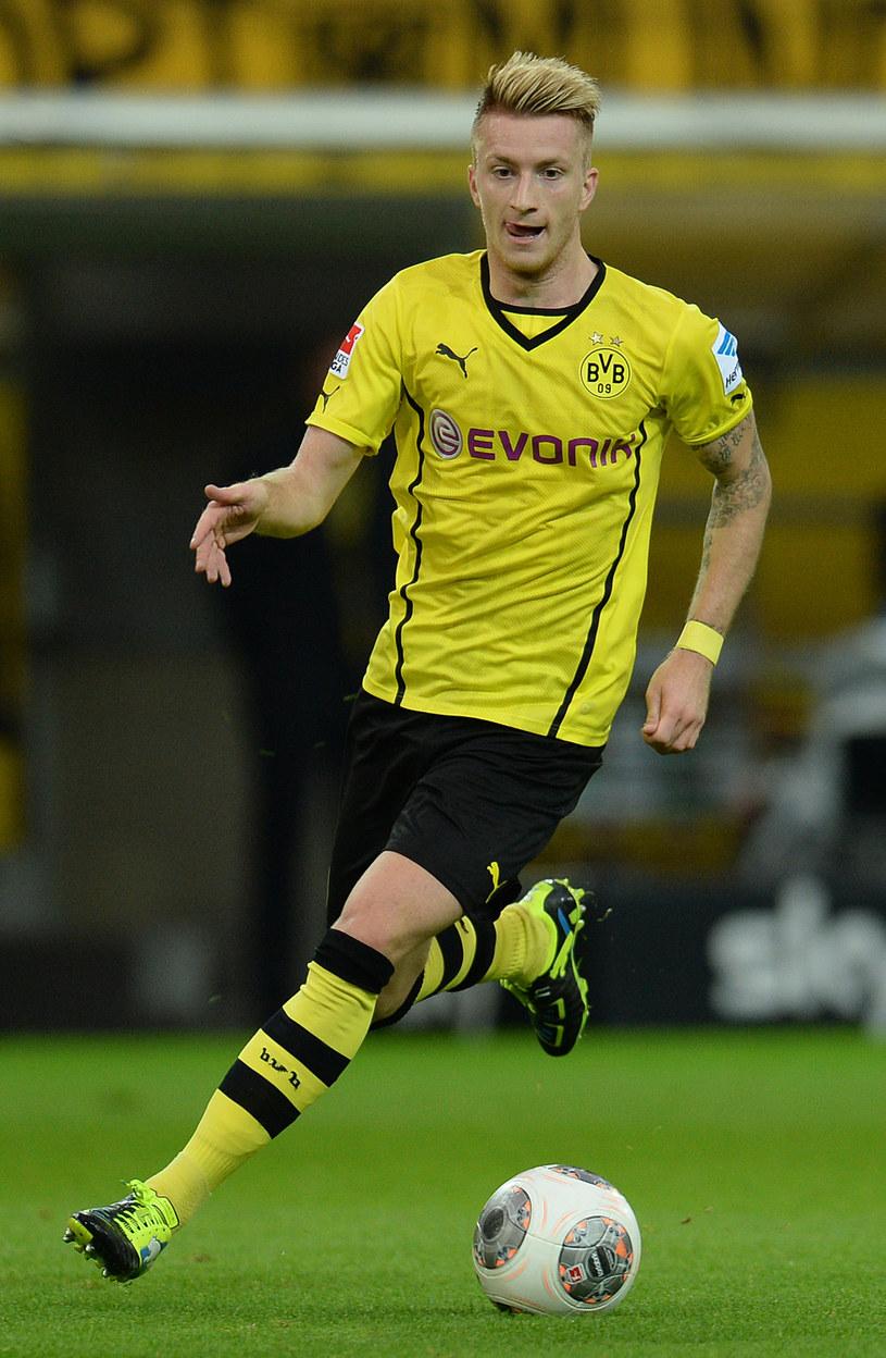 Marco Reus strzelił trzy gole dla Borussi Dortmund w meczu z VfB Stuttgart /AFP