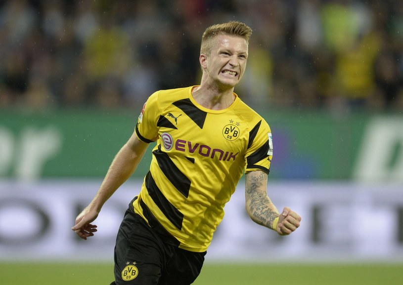 Marco Reus z Borussii Dortmund /AFP