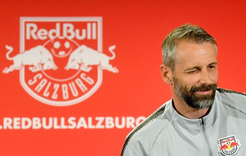 Marco Rose jeszcze w okresie pracy w austriackiej Bundeslidze /AFP