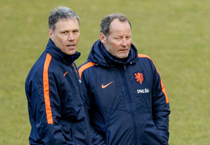Marco van Basten (z lewej) i Danny Blind /AFP