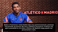 Marcos Paulo nowy transfer Atletico Madryt. Wideo