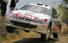 Marcus Gronholm musi się mocno napracować, żeby toczyć równą walkę z fordami /poboczem.pl