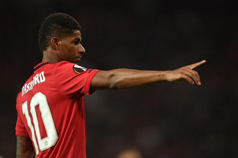 Marcus Rashford z Manchesteru United /AFP