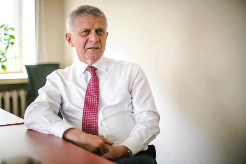 Marek Belka, były premier, minister finansów i prezes NBP. Fot. Piotr Grzybowski. /Agencja SE/East News