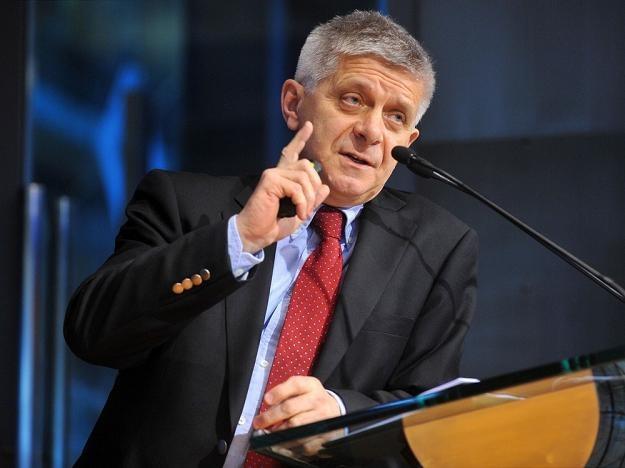 Marek Belka, prezes NBP. Fot. Lech Gawuc /Reporter