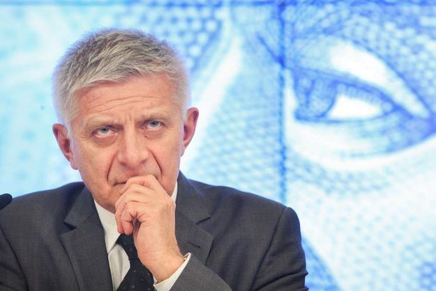 Marek Belka, prezes NBP, Fot. Michal Dyjuk /Reporter