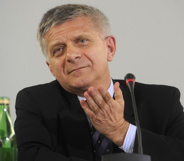 Marek Belka, prezes NBP, twórca podatku swojego imienia. Fot. Witold Rozbicki /Reporter