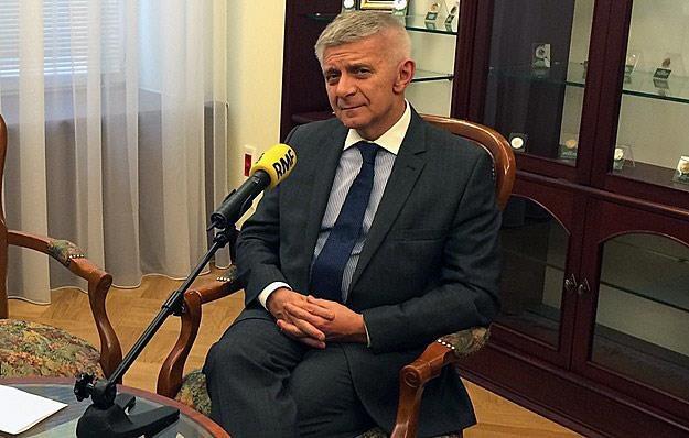 Marek Belka, prezes NBP /RMF
