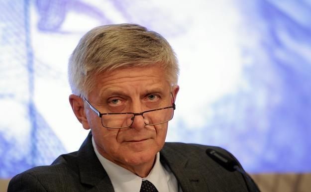 Marek Belka, szef NBP. Fot. Sławomir Kamiński, Agencja Gazeta /