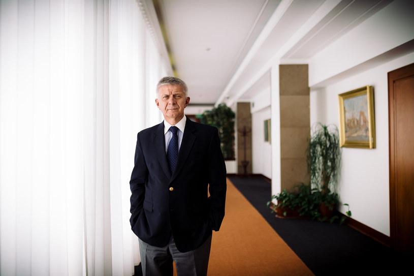 Marek Belka /Rafał Siderski / Dziennik /Agencja FORUM