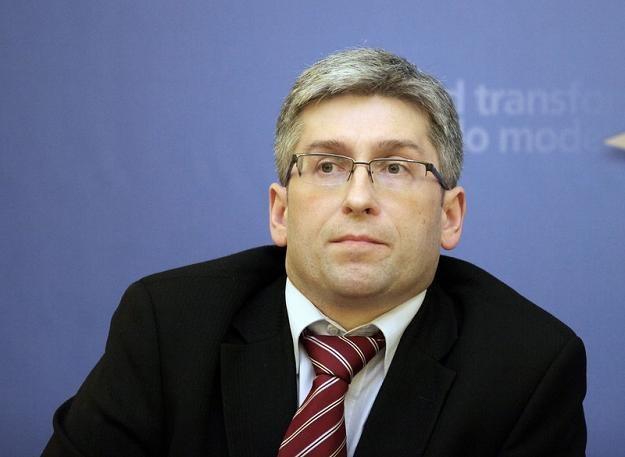 Marek Bucior z resortu pracy. Fot. Piotr Blawicki /Agencja SE/East News