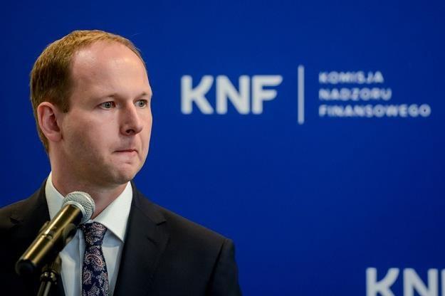 Marek Chrzanowski, b. szef KNF. Fot. Mariusz Gaczyński /Agencja SE/East News
