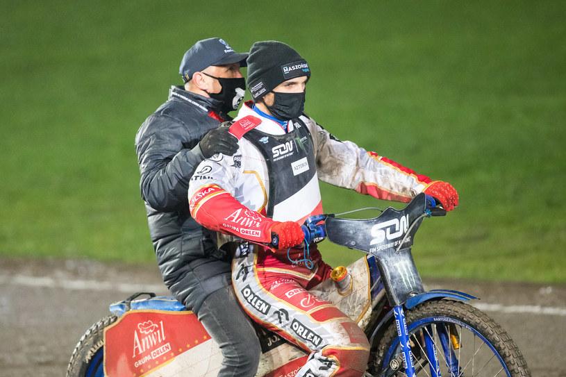 Marek Cieślak i Bartosz Zmarzlik. Finał Speedway of Nations /Marcin Karczewski / PressFocus /Newspix