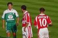 Marek Citko (z lewej) należał do najlepszych zawodników Legii /RMF