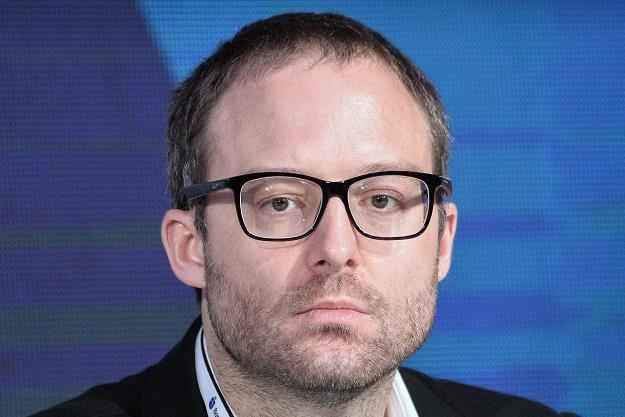 Marek Dietl, prezes GPW. Fot. Łukasz Dejnarowicz /FORUM