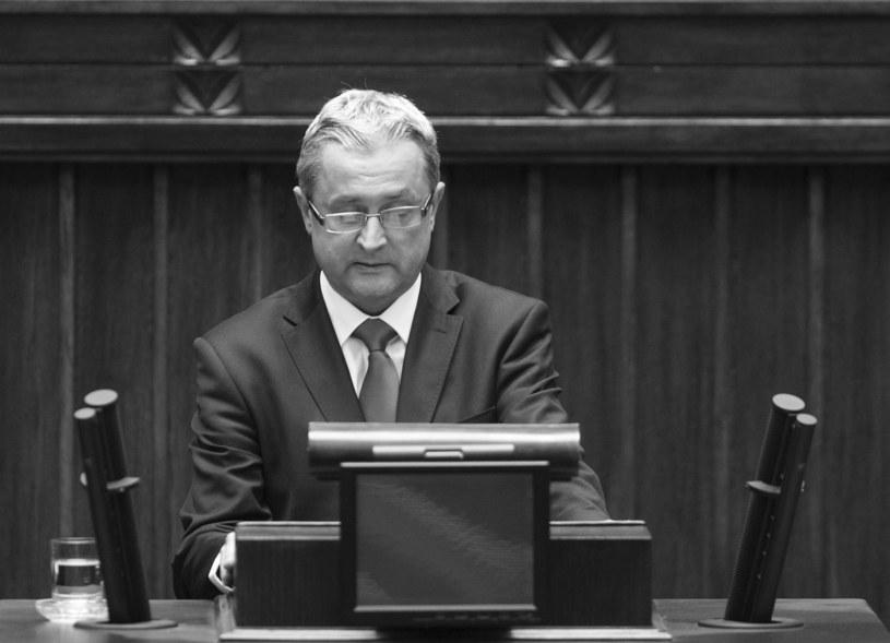 Marek Domaracki (1964 - 2019) /Stanisław Kowalczuk /East News
