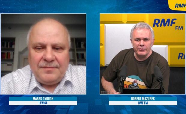 Marek Dyduch: Lewica jest poważnym ugrupowaniem. Nie będzie chodzić na pasku nikogo
