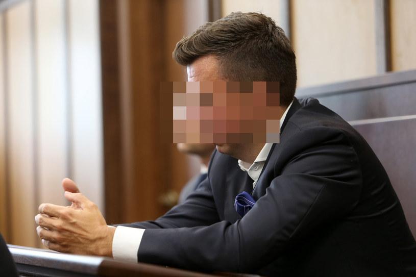 Marek F. na sali rozpraw /Fot. Tomasz Radzik/Agencja SE /East News