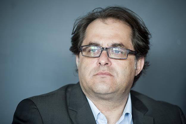 Marek Gróbarczyk, minister gospodarki morskiej. Fot. Wojciech Stróżyk /Reporter