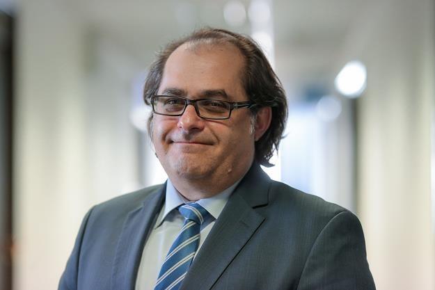Marek Gróbarczyk, minister gpspodarki morskiej. Fot. Marek Wisniewski /FORUM