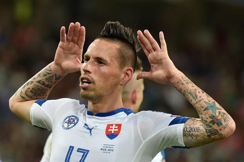 Marek Hamszik - autor jednej z 10 najładniejszych bramek Euro 2016 /AFP