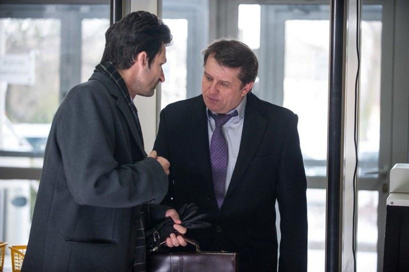 Marek i prokurator Drzazga /TVN
