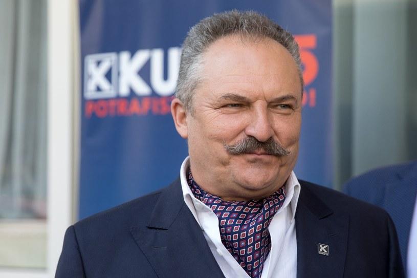 Marek Jakubiak, kandydat Kukiz'15 /fot. Andrzej Iwanczuk /Reporter