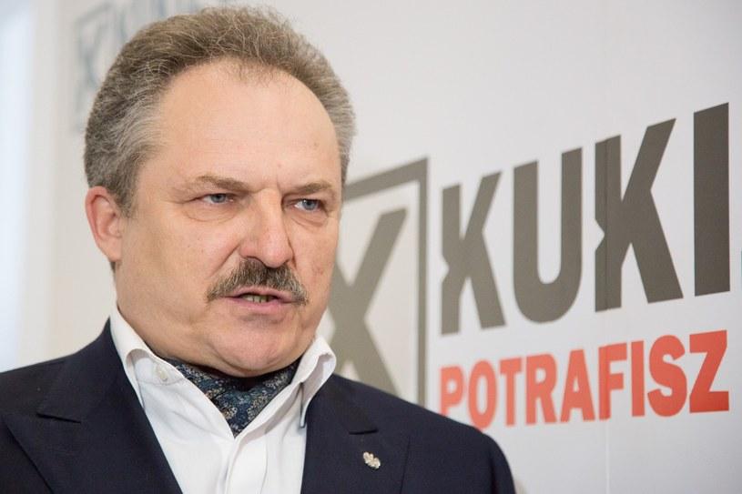 Marek Jakubiak o propozycji KE: To jest dom wariatów /Maciej Łuczniewski /East News