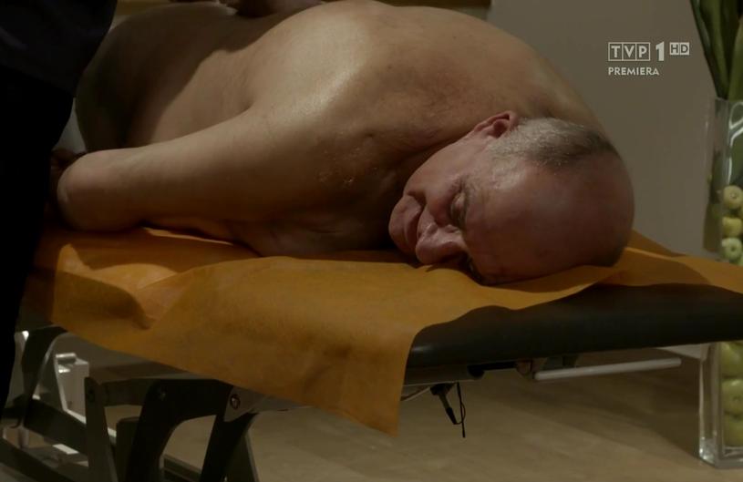 """Marek Jarosz w programie """"Sanatorium miłości"""", fot. Screen z programu /"""