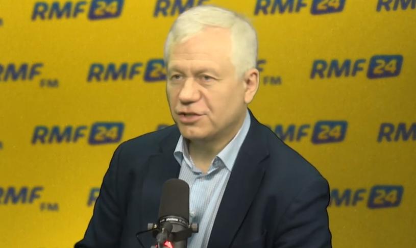 Marek Jurek w RMF FM /RMF