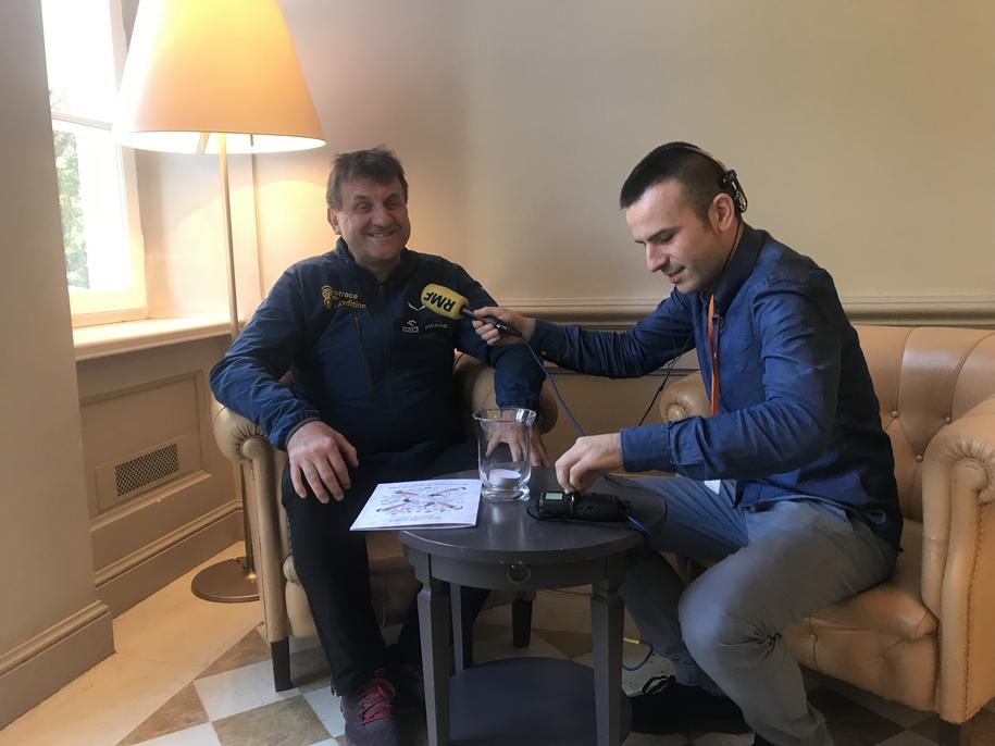 Marek Kamiński I Michał Dobrołowicz /RMF FM