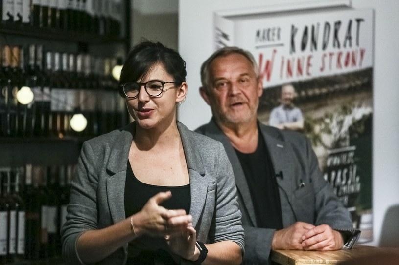 Marek Kondrat i Antonina Turnau /Beata Zawrzel/REPORTER /East News