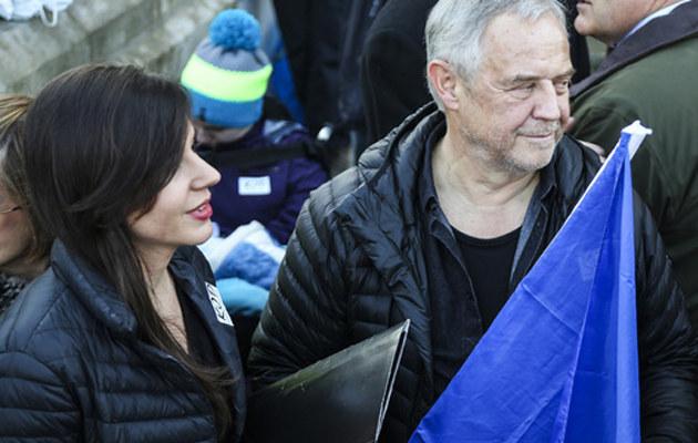 Marek Kondrat jest szczęśliwy! /Beata Zawrzel/REPORTER /East News