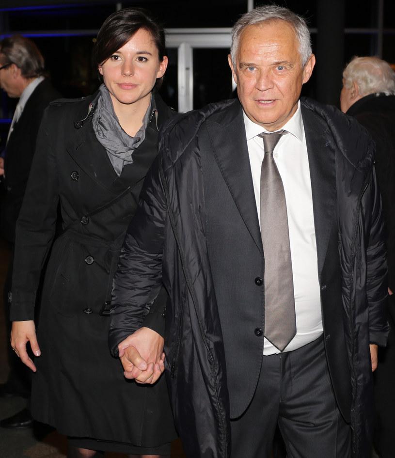 Marek Kondrat z żoną Antoniną / Jakub Porzycki /Agencja FORUM
