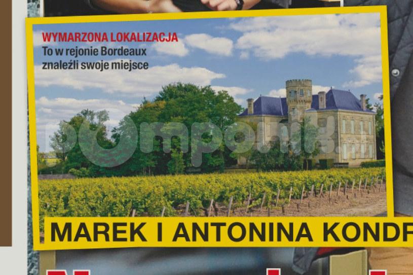 Marek Kondrat znalazł dom we Francji /Na żywo