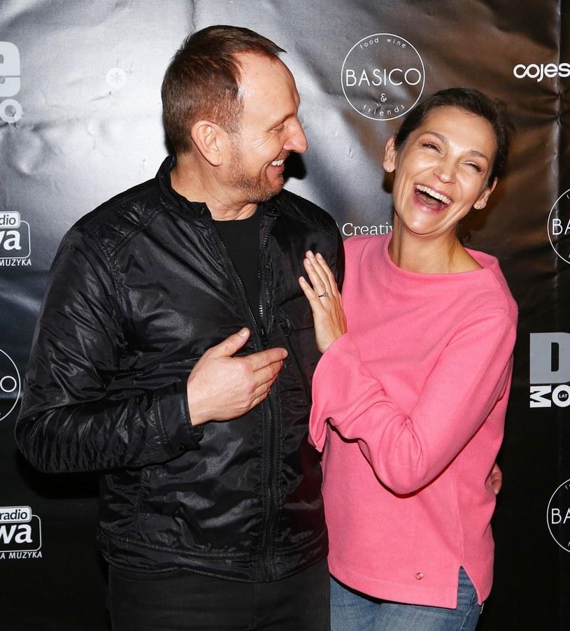 Marek Kościkiewicz i Olga Bończyk /Mariusz Grzelak /Reporter