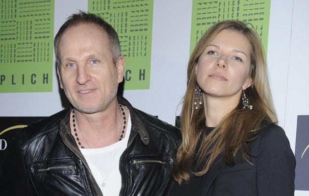 Marek Kościkiewicz z żoną Agatą /Jarosław Antoniak /MWMedia