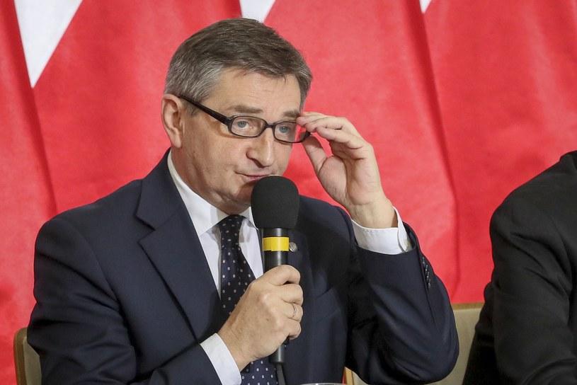 Marek Kuchciński /Andrzej Iwańczuk /Reporter
