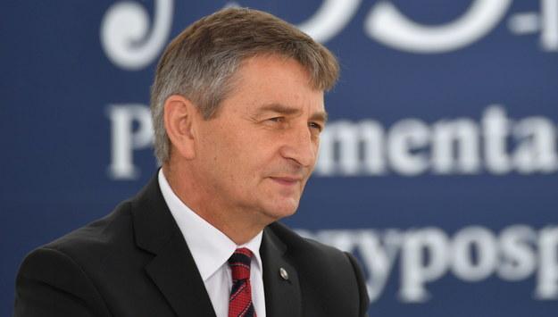 Marek Kuchciński /Bartłomiej  Zborowski /PAP
