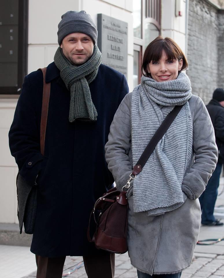 Marek (Leszek Lichota) i Agata (Agnieszka Dygant) /Agnieszka K. Jurek/ Facebook/ Prawo Agaty /TVN