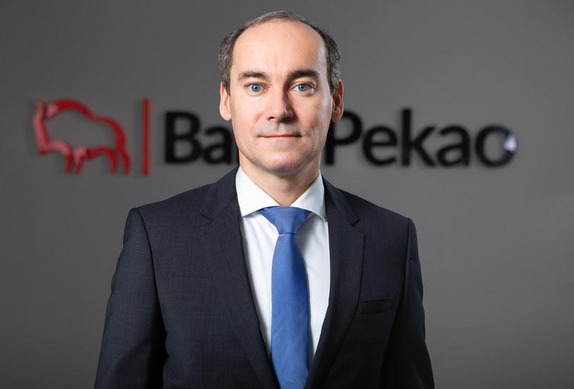 Marek Lusztyn, prezes Banku Pekao S.A., źródło: Pekao /materiały prasowe