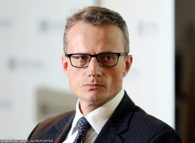 """Marek Magierowski: """"Panu prezydentowi zależy na tym, aby rozmowy na temat rozwiązania tego kryzysu odbywały się w spokojniej atmosferze"""" /Mariusz Grzelak /Reporter"""