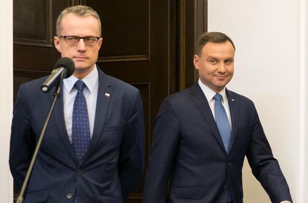 """Marek Magierowski: """"Sytuacja jest niezręczna. Pan prezydent ma duże poczucie humoru"""" /Krystian Maj /Agencja FORUM"""