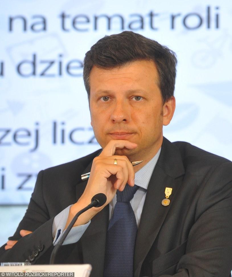 Marek Michalski, rzecznik praw dziecka /Witold Rozbicki/REPORTER /Reporter