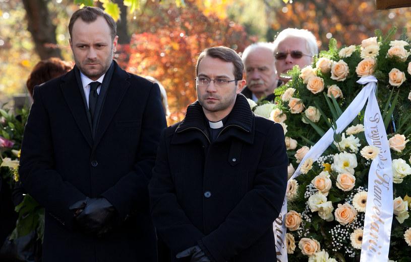 Marek nie będzie potrafił ukryć swojej zazdrości o Majewskiego (na zdj. z Marcinem Hycnarem). /x-news/ Agnieszka K. Jurek /TVN
